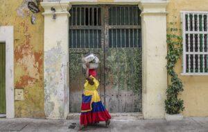 Colombian woman